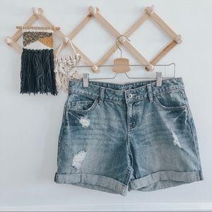 APT. 9 | Distressed Denim Shorts